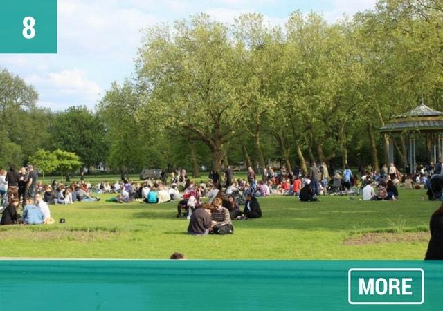 London's Victoria Park. Photo: Victoria Park Friends Group