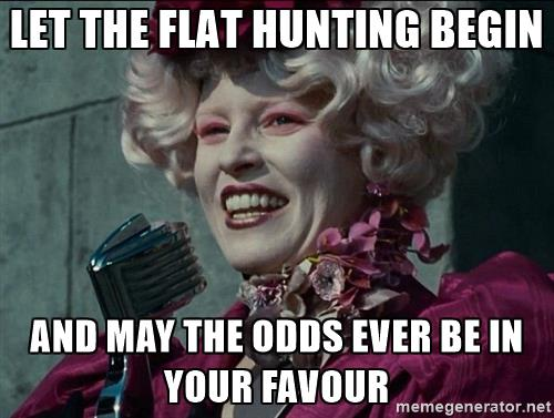 hunting for a gay flatshare meme