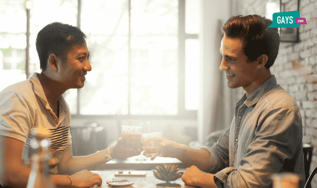 second date gay couple