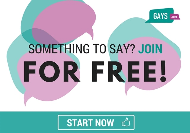 Join the Gays.com discussion in the forum for free!