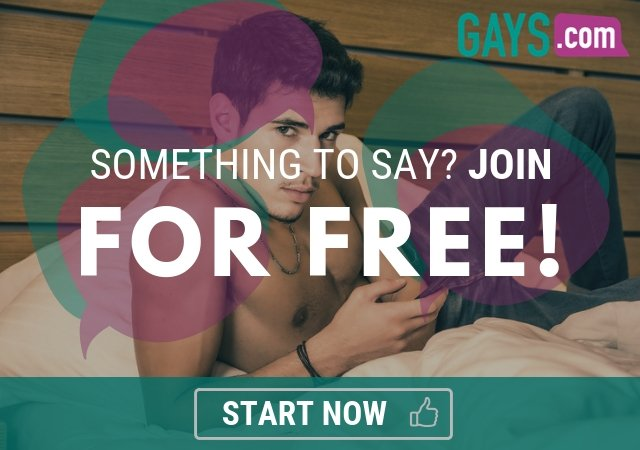 join the gay forum discussions on gays.com
